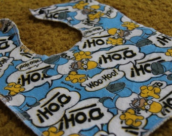 Homer D'oh Baby and Toddler Bib
