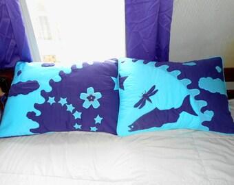 Pillow Shams Midnight Sun Quilted Standard