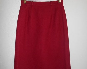 SALE Vintage skirt  BURBERRYS     Wool       Authentic         womens women ladies clothing clothes