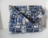 Star Wars Diaper Bag - Diaper Bag - Star Wars Bag - Messenger Bag - Crossbody - School Bag - Laptop Bag - Purse - Bag