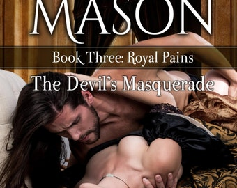 Signed Paperback of The Devil's Masquerade by Nina Mason