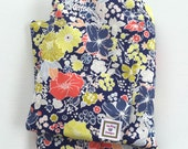 Large Heating Pad, Microwavable, Moist Heat Therapy, Removable Cover, Hot Cold Pack, Aromatherapy, Floral