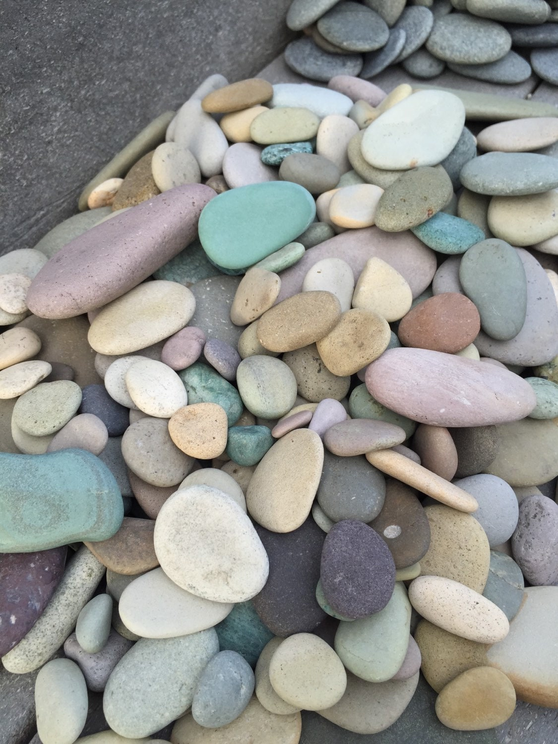 Alaska river rocks river rocks bulk wedding by for What are river stones