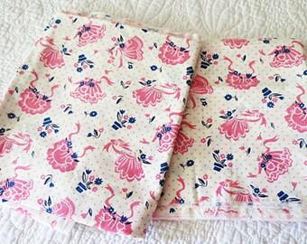 Retro Apron Fabric So Cute ECS