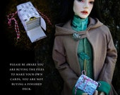 Rider-Waite Tarot Card digital collage sheet set for BJD and Blythe dolls