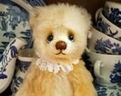 ooak Mohair Teddy Bear 8.5 inches