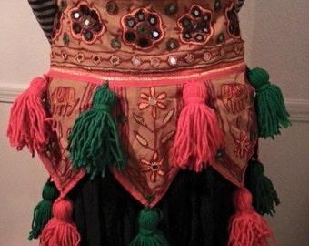 Tribal Bellydance Belt with Tassels