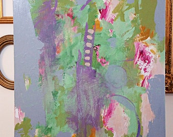 """original 24"""" x 30"""" abstract painting by Mary Kaiser"""