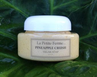 Pineapple sugar soap - Whipped sugar body souffle