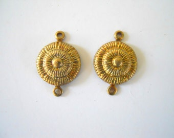 Pair Brass Connectors