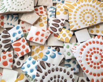 Mosaic Tiles--Colorful Explosion--83 pieces