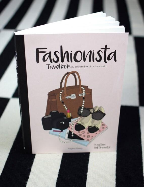 Fashionista – A fashion themed poster book