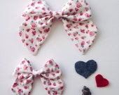 CLEARANCE - Sweet Roses Sailor Bows