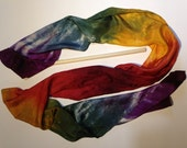 Silk Scarf Streamer - Functional as a magical toy or wearable scarf