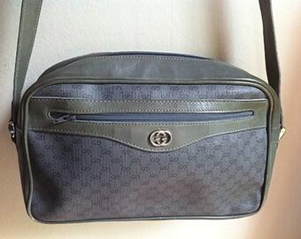 GUCCI grey shoulder bag purse