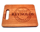 Personalized Wedding Gifts, Cutting Board, Wedding Gift Ideas, Bridal Shower Gifts, Wedding Shower Gifts, Wedding Presents, Anniversary Gift