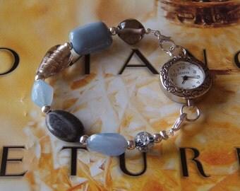 Winter Skies Interchangeable Bracelet Watch Band