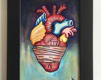 Healed Heart - Original Art by Kevin Kosmicki