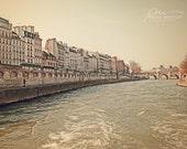 Paris Photo, Paris Art, Paris Decor, Architecture Art, Architecture Photo, Paris print, Paris wall art, Paris street photo, Seine River art