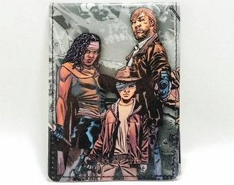 Sewn Comic Book Wallet - The Walking Dead - Morgan