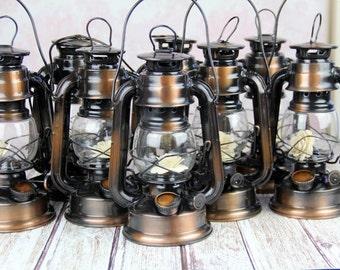 Rustic Lanterns Set of 8
