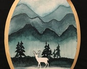 The White Stag - A Small Painting
