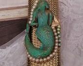 Mermaid Cigarette Lighter Case/ Bic Lighter Sleeve