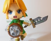 Legend of Zelda Majora's Mask Link Nendoroid Accessories