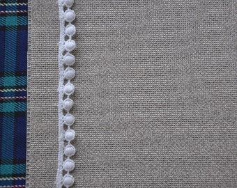 3Ys+ Mini Embroidery ball/dot Lace Trim SR02(10mm)