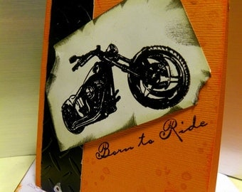 Motorcycle Greeting Cards for Bikers Assorted Birthday Congrats Get Well