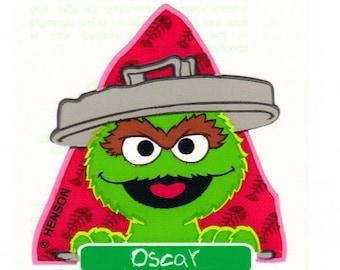 Oscar the Grouch Sticker Mod by Sandylion Sesame Street