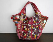 DAZZLING Patchwork Hobo - Hip/Tribal/Ethnic/Unique/Bohemian patchwork bag - 6005