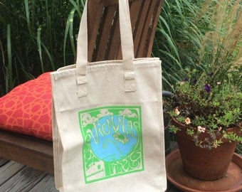 Vienna Grow Your Own Roots Tote - Green
