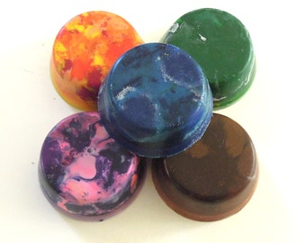 Colorful Toddler Crayons - Set of 5