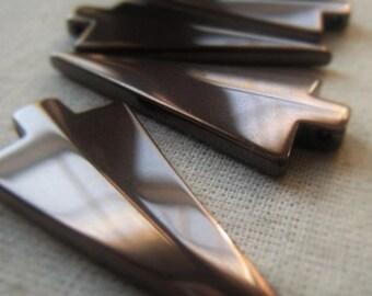Bronze Arrowhead Pendant Gemstone Hematite Arrowhead Item No. 4869