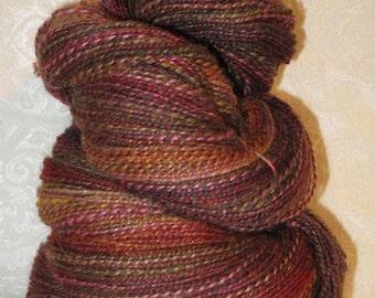 Handspun Yarn - Merino, Silk, Polwarth, and other fibers