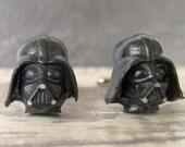 Christmas in July - Darth Vader Cufflinks - Darth Vader - Star Wars Cuff Links - Star Wars - Fathers Day Gift - Wedding Cuff links - star wa