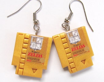 NES EARRINGS! Super Mario Bros Nes Earrings, Mario Bros, nes jewelry, nes earrings, Mario 3, Nintendo earrings