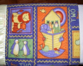 Noah's Ark Blanket