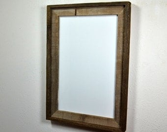 11x17 wood poster frame with a beautiful 2 tone patina