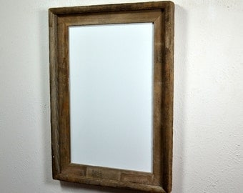 11x17 eco friendly wood poster frame with a beautiful natural patina