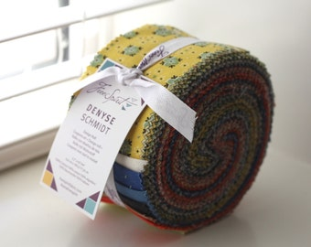 SALE 2.5 inch STONINGTON Design Jelly Roll strips fabric by Denyse Schmidt