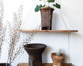 Vintage Japanese Basket Set - large, woven, bamboo