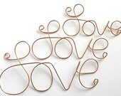 Signs . LARGE Wire Wall Signs . Wire Wall Letters . Custom Signs . Custom NAME or WORD . Personalized Sign . Intials . Monograms