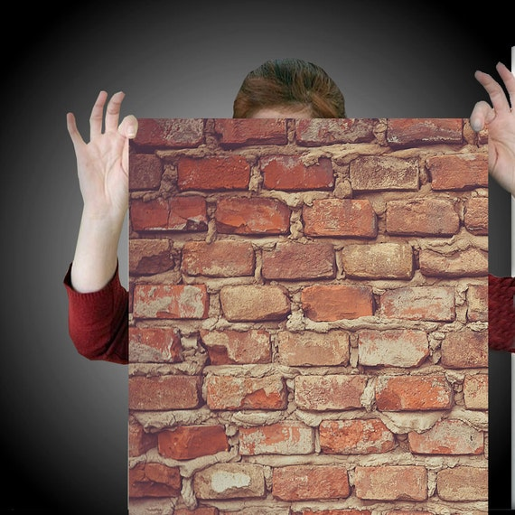 Industrial Brick Easy Peel And Stick Wallpaper 8 Panel