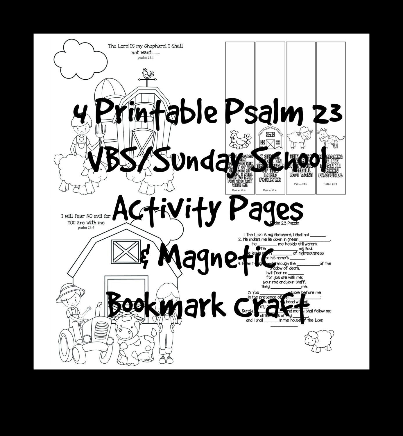 vbs sunday scripture activity coloring pages u0026 printable