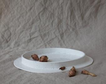 50% OFF - SECONDS SALE - Ocean Speckled - Serving Platter