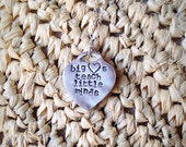 It takes a big heart to teach little minds, teacher necklace, teacher appreciation, teacher gift, teacher present, teachers aid, principal