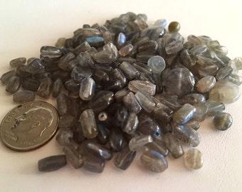 Labradorite Bead Mix, Misc Labradorite Beads