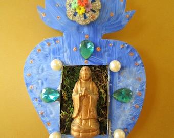 Deep Peace Quan Yin healing altar shrine